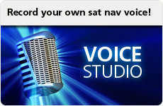 Record your own sat nav voice